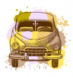 car vector image
