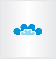 Clouds icon symbol sign vector