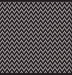 Halftone edgy lines mosaic endless stylish texture vector