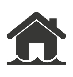 house insurance property isolated icon vector image