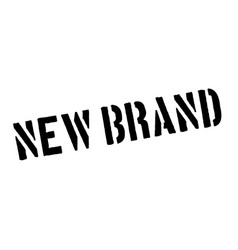 new brand rubber stamp vector image