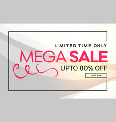 Sale discount banner poster design background vector