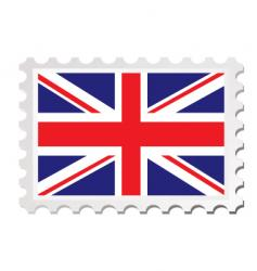 British card vector image