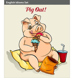 Pigging out vector