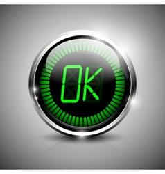 OK symbol vector image vector image