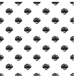 Projectile explosion pattern vector
