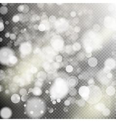 Gold bokeh lights EPS 10 vector image