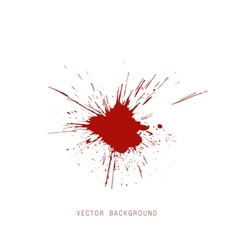 Blood split background vector