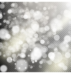 Gold bokeh lights eps 10 vector
