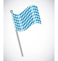 oktoberfest flag vector image