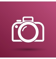 Photo camera icon symbol photography vector
