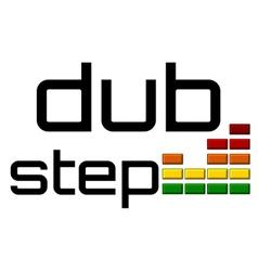 Dubstep with dj equalizer music volume -on alpha vector