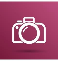 photo camera icon symbol photography vector image vector image