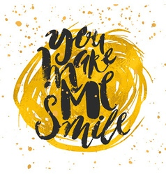 Smile concept inspirational phrasesmiles are vector