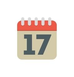 Calendar date month plan desing vector