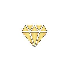 Diamond computer symbol vector image