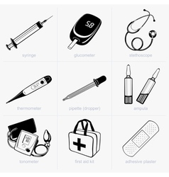 Medical equipment vector image