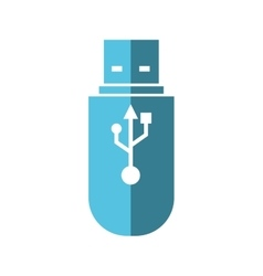 Usb icon Gadget and technology design vector image vector image