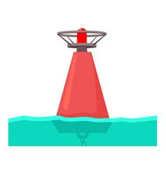 Buoy icon cartoon style vector