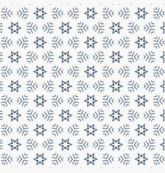 Star and lines pattern vector