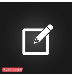 Subscribe flat icon vector