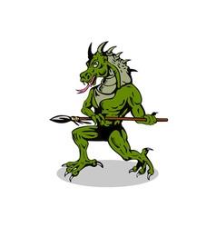 Villain dragonhead vector