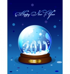 New year 2011 card vector