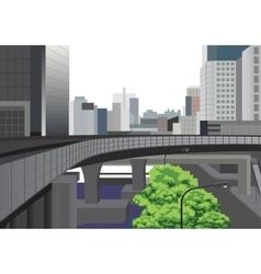 Modern bangkok city vector