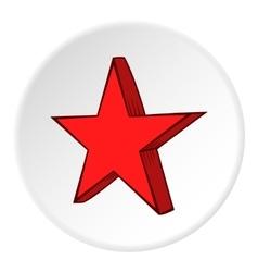 Geometric figure of heavenly stars icon vector