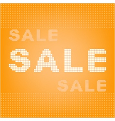 background with hot sale vector image