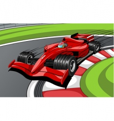 car formula vector image vector image