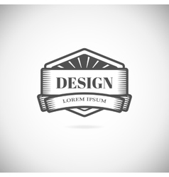Logo design elements template vector image