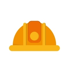 Industrial helmet icon vector