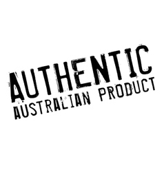 Authentic australian product stamp vector