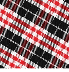 Pattern scottish tartan 3 vector