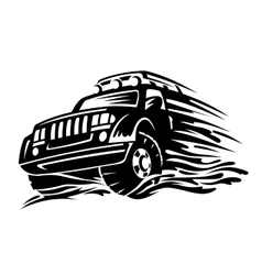 Offroad vehicle vector