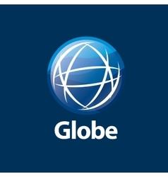 abstract logo Globe vector image