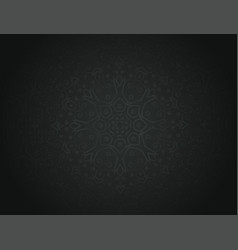 floral 3d pattern background vector image