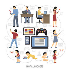Gadgets for everydays composition vector