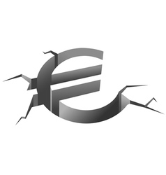 Euro symbol in crash vector