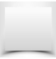 Blank white vector