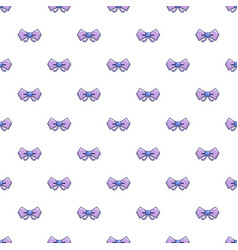 Bow tie hipster pattern seamless vector