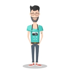 Hipster Emotions Icon vector image vector image
