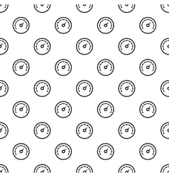 Speedometer with dot notation pattern vector