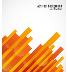Abstract decorative geometric background vector image