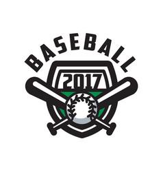 Baseball 2017 logo template design element for vector