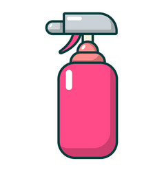 Fire extinguisher icon cartoon style vector
