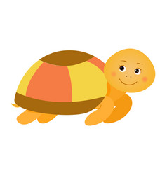 turtle for children vector image vector image