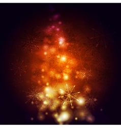 Abstract shiny Christmas background vector image