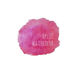 Watercolor stain vector